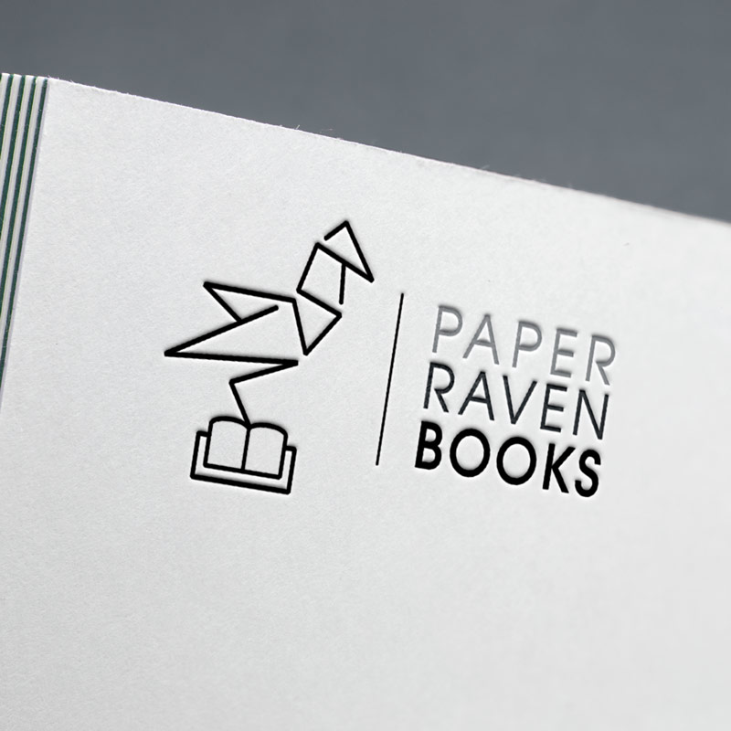 Paper Raven Books Logo Re-Design